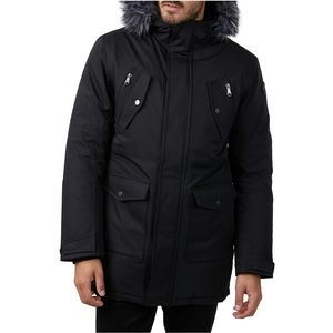 Pajar Northridge Mens Parka With Faux Fur Hood